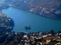 Bhimtal from top